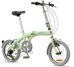 """Citizen Bike folding bike shop   Portable & Folding Bikes   TOKYO Citizen Bike 16"""" 6-speed Folding Bike with Ultra-Portable Frame"""