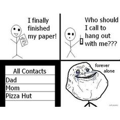forever alone memes tumblr - Google Search