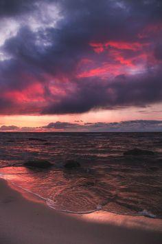 dennybitte:   last coastal light by Denny Bitte