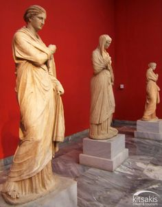 Greek ancient statues, National Archaeological Museum of Athens, Greece #kitsakis