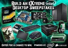 You should enter Build an Extreme Intel Desktop. There are great prizes and I think one of us could win!