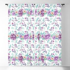 Buy Purple peonies elegant watercolor Blackout Curtain by augustinet. Worldwide shipping available at Society6.com. Just one of millions of high quality products available. Purple Peonies, Blackout Curtains, Curtain Rods, Clock, Tapestry, Throw Pillows, Watercolor, Rugs, Elegant
