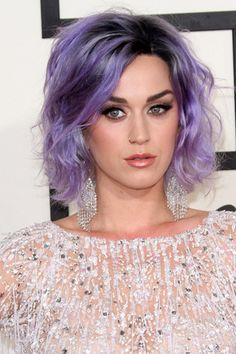 Katy Perry, 57th Annual GRAMMY Awards 8 February 2015 grungy dark roots