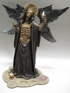 Hellboy II Three Kings Resin Angel of Death Model Kit Pro Build Up RARE | eBay