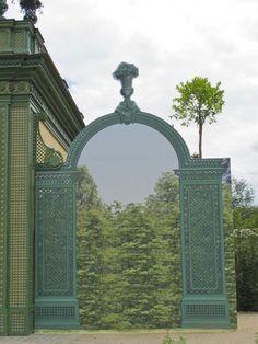 Trompe-l'oeil du Pavillon Frais, Trianon à Versailles