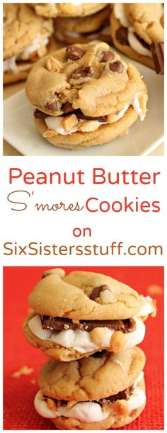 Peanut Butter S'mores on Sixsistersstuff.com