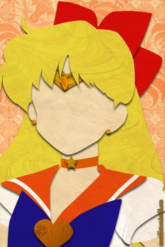 Sailor Venus (faux papercraft, moonblossom.tumblr.com)