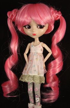 Pink Briaded Pig Tails Sailor Moong Wig for by SparklyMarket