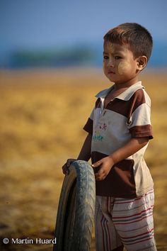Playing Tire - Myanmar