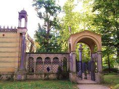 Klostergarten im Schloss Glienicke Berlin