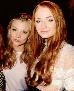 Natalie Dormer and Sophie Turner