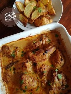 Adega Chicken recipe by Naeema Mia posted on 16 Apr 2018 . Recipe has a rating of by 1 members and the recipe belongs in the Chicken recipes category South African Recipes, Indian Food Recipes, Asian Recipes, Real Food Recipes, Chicken Recipes, Cooking Recipes, Chicken Meals, Side Dishes For Chicken, Curry Dishes