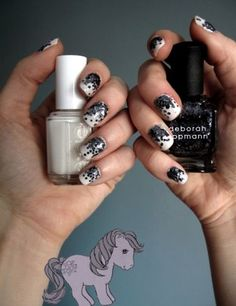 """Not sure what""""s up with the My Little Pony, but I'm diggin' the nails"""