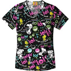 Snoopy LOL Mock Wrap Top I have this one!!