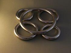 My new Axsmar massive 16mm rings set : 1 collar, 2 wrist, 2 ankle