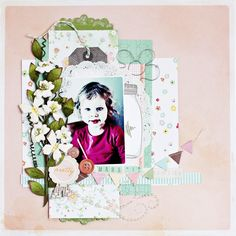 DT layout Creative Scrappers 203 using American Crafts Dear Lizza Neopolitan. Made by me - Christin Grønnslett aka Umenorskan
