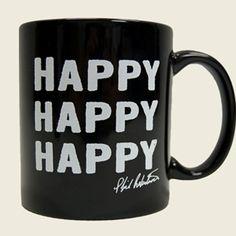 Duck Commander Store - COFFEE MUG - HAPPY - BLACK