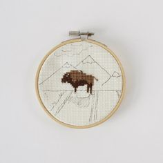 Buffalo Cross Stitch