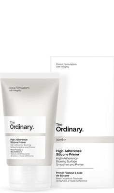 High-Adherence Silicone Primer - This formula uses advanced adaptive silicones to act as a matte, hydrating, blurring primer for makeup that looks higher in definition and adheres for longer. The formula can also be used alone as a non-greasy hydrator that reduces the looks of pores and of imperfections.