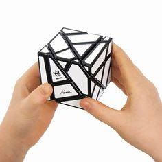 NEW brainteaser cube! Intensely challenging and hauntingly addictive - Twist your visual-spatial skills into a new dimension of mind-numbing fun with the Ghost Cube. Take the Rubik's Cube and amplify the challenge!