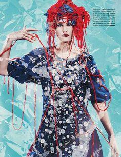 Vogue Germany - 2014 - model Drake Burnette - photo Sebastian Kim - stylist Katie Mossman