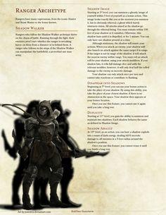 Shadow Walker Rogue