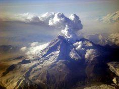 Redoubt Volcano, Alaska. Linda Kozak.