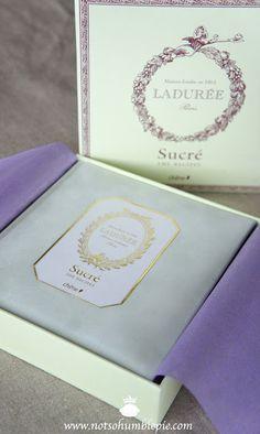 Not So Humble Pie: Macarons Framboise - Ladurée's Recipe#more