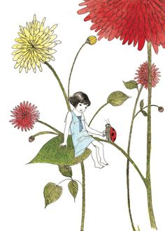 From When I Was Small, written by Sara O'Leary, illustrated by Julie Morstad