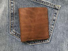 Купить Портмоне - коричневый, портмоне, портмоне из кожи, портмоне ручной работы, портмоне мужское