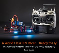Storm Multirotors STORM Racing Drone (RTF / SRD180 V3 / CleanFlight) - HeliPal Drones, Fpv Drone, Rc Helicopter, Diy Car, Rc Cars, Hobbies, Gadgets, Racing, Gadget