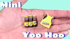 DIY Miniature Yoo Hoo Chocolate Milk Bottles - 4 Drink Pack