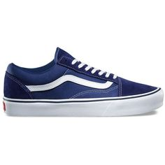 new styles 73cc2 07853 Vans Suede Canvas Old Skool Lite ( 65) ❤ liked on Polyvore featuring men s