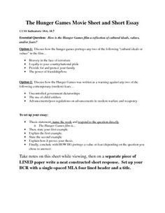 here s a free worksheet handout that goes along with the novel the