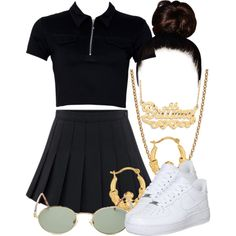 A fashion look from July 2017 by miizz-starburst featuring NIKE, Givenchy, BillyTheTree and Forever 21 Cute Swag Outfits, Cute Comfy Outfits, Retro Outfits, Simple Outfits, Classy Outfits, Stylish Outfits, Kpop Fashion Outfits, Girls Fashion Clothes, Teenage Girl Outfits