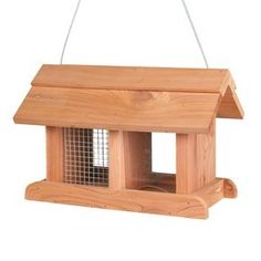 Wooden Outdoor Wild Bird Feeder Station Table Ideal For Seed Peanuts Food