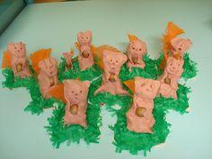3d knutsel: eekhoorn van klei