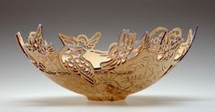 wonderful intricate wooden bowls by Joey Richardson