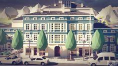 ArtStation - villa blue, Lars Grevsmühl