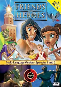 Friends and Heroes - Episodes 1 & 2 - DVD - Children's Bible Stories Daniel and the Lions Den and Samson and Delilah