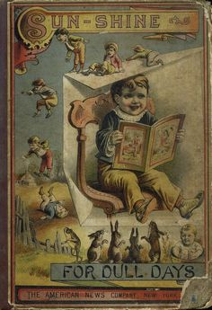 Sun-Shine For Dull Days - vintage children's book