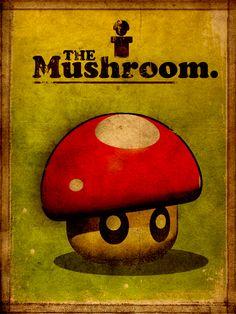 Mario! Super Vintage Mushroom