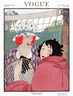 Vogue Page Illustration