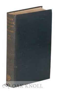 MECHANICK EXERCISES ON THE WHOLE ART OF PRINTING (1683-4). Joseph Moxon.