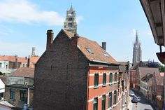 This is the view from my room in the hostel I stayed at in Bruges. I highly recommend it! Bruges, Hostel, Great Photos, My Room, Empire State Building, Amsterdam, Travel, Voyage, Trips