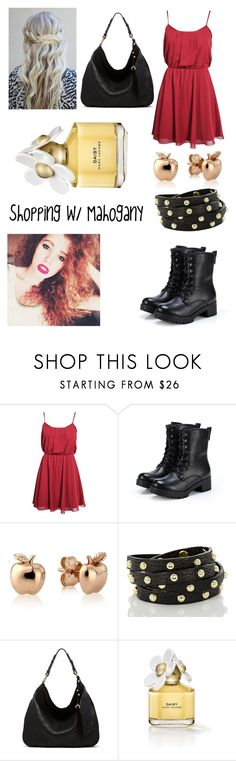"""""""Shopping with Mahogany Lox"""" by julie819 ❤ liked on Polyvore featuring Boohoo, Exull, Brahmin, Ella Moss and Marc Jacobs"""