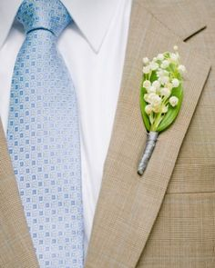 """See the """"The Boutonniere"""" in our A Rustic Pink Destination Wedding in Vermont gallery"""