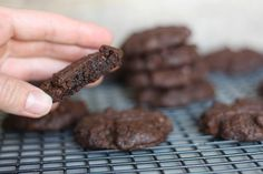 PaleOMG – Paleo Recipes – Soft & Chewy Double Chocolate Cookies