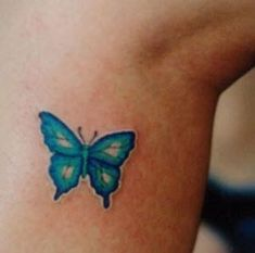 Small Butterfly Tattoos For Women | Small Butterfly Tattoos On Wrist - Paperblog