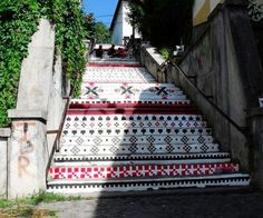Rakoczi Stairs, Targu Mures, Romania